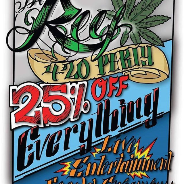 Stop by The Reef for their 420 party today! Wellhellip